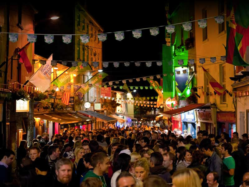 explore nightlife - Galway Events