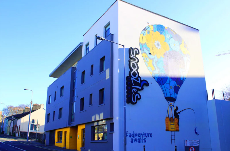 , Snoozles Forster Street Gallery, Hostel Accommodation Galway